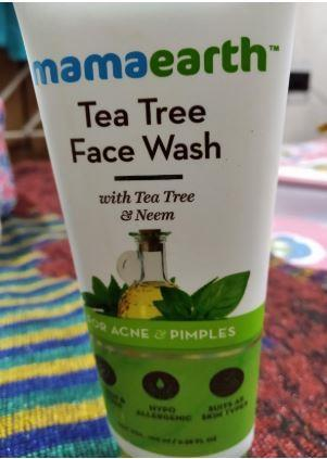 Mamaearth Tea Tree Face Wash
