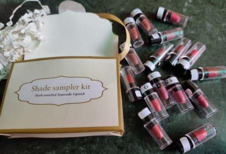 Just herbs mini Lipstick Sampler Kit