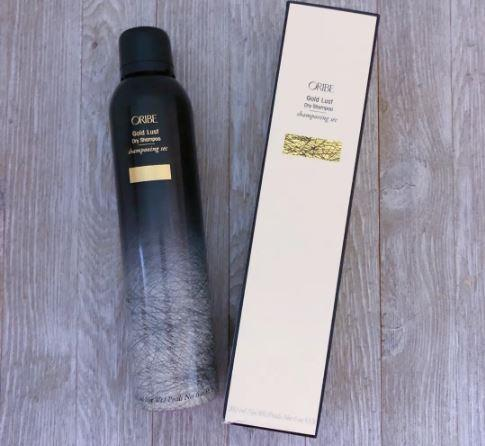 Oribe gold lust dry shampoo review