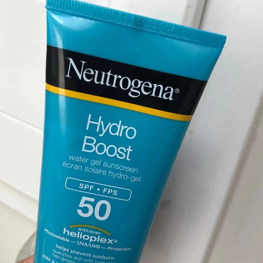 Neutrogena Hydro Boost Water Gel Sunscreen Review