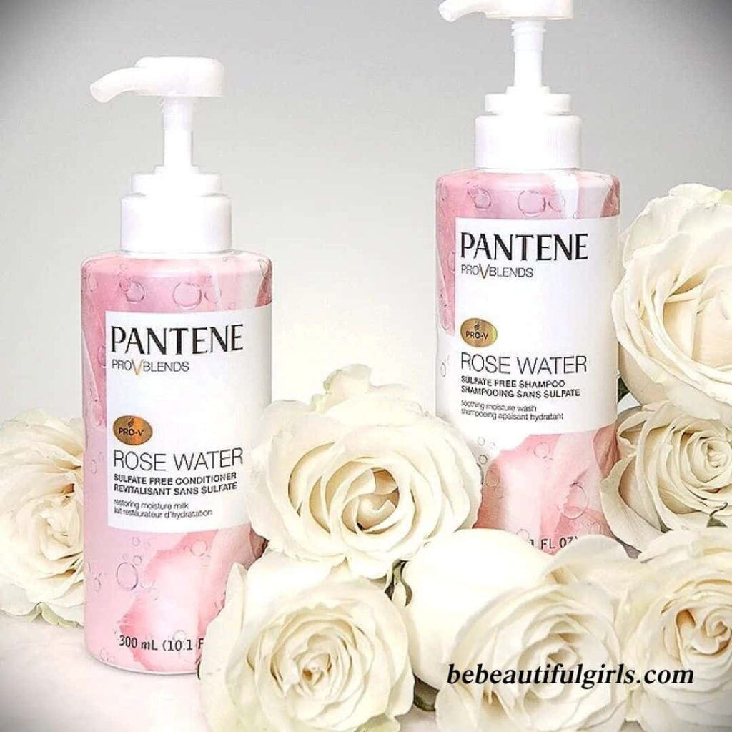 Pantene Pro-V Blends Rose Water sulfate-free Shampoo Review