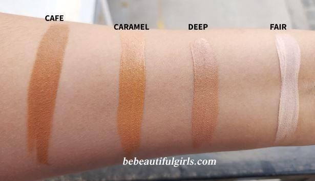 Maybelline Fit Me Concealer shades