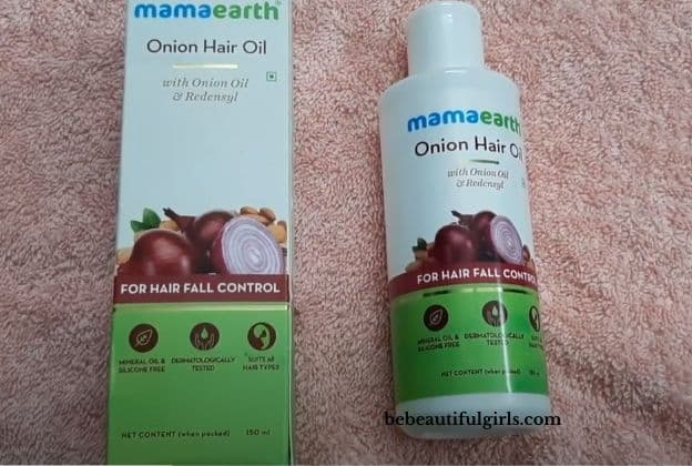 Mamaearth Onion Hair Oil Review