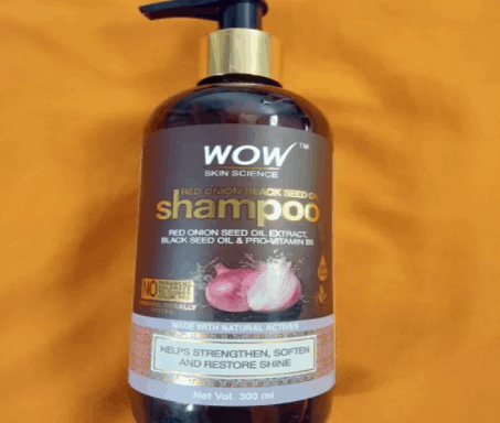 WOW Red Onion Black Seed Oil Shampoo Review