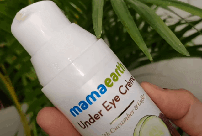 Mamaearth Under Eye Cream for dark circles Review