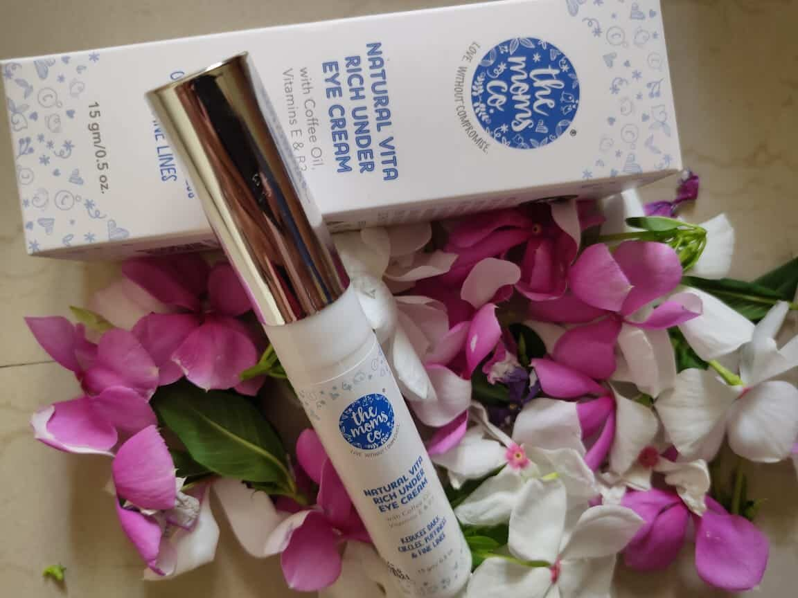 The Moms co under eye cream Review